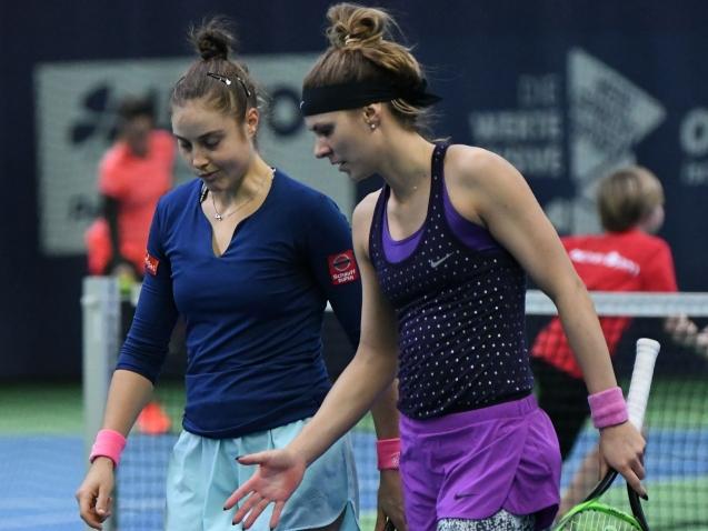AK Ladies Open,   21.02.2019  -  Halbfinale Doppel, Elena Bogdan (ROU)/Shuyue Ma (CHN) vs. Marie Benoit (BEL)/Katarzyna Piter (POL) (6:7 / 6:7)