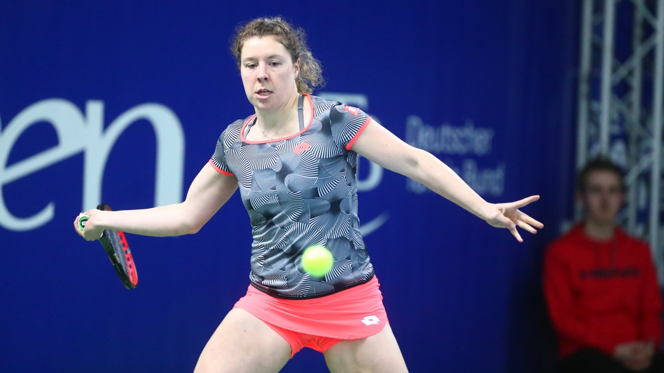 Anna-Lena Friedsam steht in der zweiten Runde.